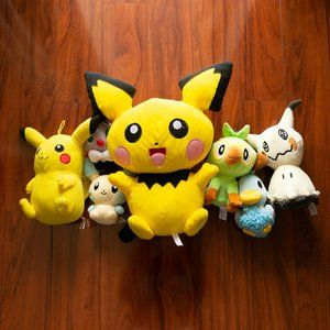 Lot of 7 Pokemon Plush Toy Figures